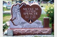 Single Grave Monument for Nicole Spencer 12612