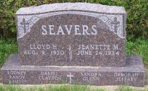 Seavers Monument